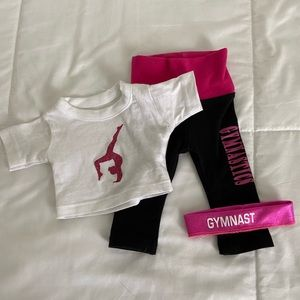 "Other - 18"" Doll Gymnastics Outfit"